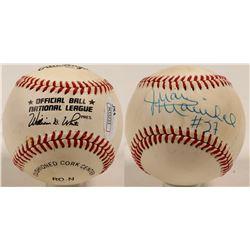 Juan Marichal signed baseball  (100263)