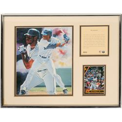 "Ken Griffey Jr. ""The Seattle Kid"" litho. print  (100577)"