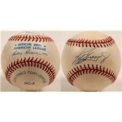 Ken Griffey Jr. autographed baseball  (100272)