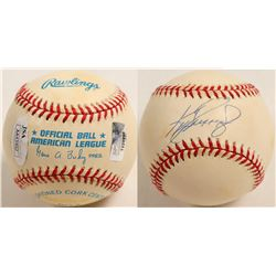 Ken Griffey Jr. autographed baseball with bag  (100295)