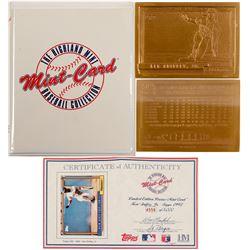 Ken Griffey Jr. Bronze baseball card from Mint-Card  (100307)