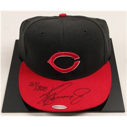 Ken Griffey Jr. signed Cincinnati Reds ball cap  (100582)
