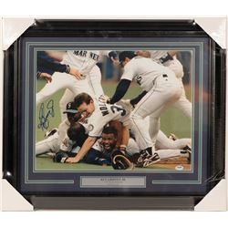 "Ken Griffey Jr. Signed Photo ""Refuse to Lose""  (100580)"
