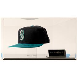 Ken Griffey Jr. Signed Seattle Mariners Pro New Era Cap  (100583)
