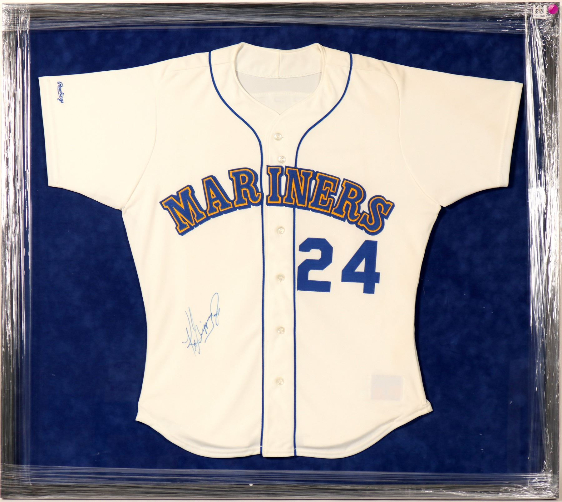 huge discount 1a874 e11ed Ken Griffey Jr. Signed Seattle Mariners Rookie Game Jersey (100260)