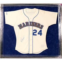 Ken Griffey Jr. Signed Seattle Mariners Rookie Game Jersey  (100260)