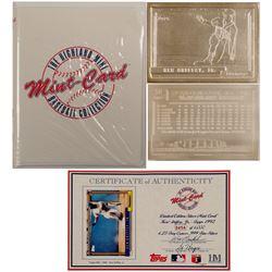 Ken Griffey Jr. Silver baseball card from Mint-Card  (100305)