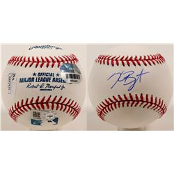 Kris Bryant autographed baseball  (100265)