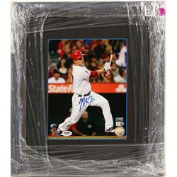 Mike Trout Autographed Photo  (100317)