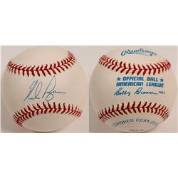 Nolan Ryan signed Baseball  (104608)