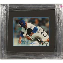 Nolan Ryan Autographed Fight Photo  (100564)