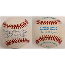 "Phil Rizzuto ""Happy Holidays"" Ball  (104603)"
