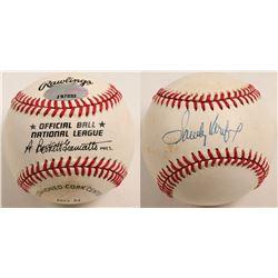 Sandy Koufax autographed baseball  (100290)