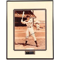 Signed 11 x 14 Joe DiMaggio   (104563)