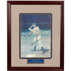 Signed 11 x 14 Joe DiMaggio Color  (104562)