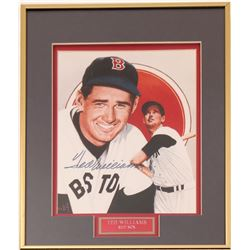 Signed 8 x 10 of Ted Williams  (104543)