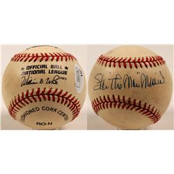 Stan Musial autographed baseball  (100266)