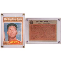 TOPPS The Sporting News- Mickey Mantle Card  (104079)