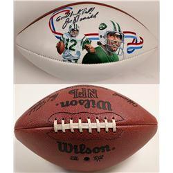 Wilson Football Autographed By Joe Namath  (104611)