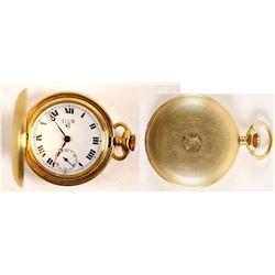 Vintage Ladies Swiss Made Elgin Pocket Watch  (99648)