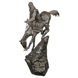 The Mountain Man - Bronze Sculpture by F. Remington  (91265)