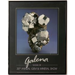 Galena Tucson Poster signed by Chip Clark  (91239)