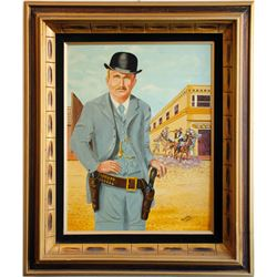 Painting of Butch Cassidy  (91264)