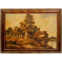 Hudson School Landscape Painting  (91523)