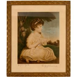 The Age of Innocence print by Sir Joshua Reynolds  (91510)