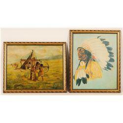 DR  Barrack Framed Prints (2)  (102642)