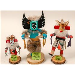 Kachina Dolls, All Signed by Artists  (102732)
