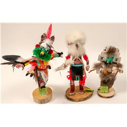 Kachinas, Set of 3  (102733)