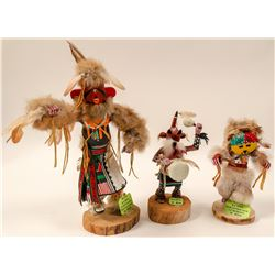 Kachinas, Set of 3  (102734)