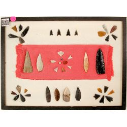 Washoe County Arrowheads, Scrapers, Bird Points, Trade Beads  (90645)