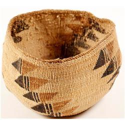 Vintage Hupa Basket  (58867)