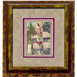 Totem Poll Post Card (Framed)  (102729)