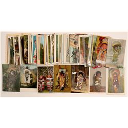 American Indian Papooses/ Cradleboards cards  (104157)