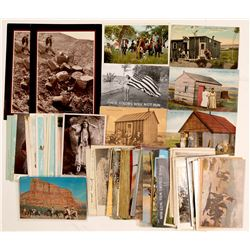 American Wild West Misc. Western Postcards  (104155)