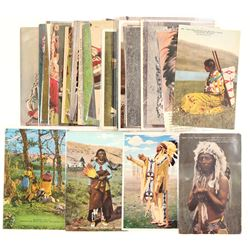 Blackfoot Indians Postcard Collection  (104152)