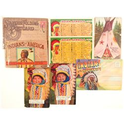 Indian Souvenir Postcard Picture Booklets  (101153)