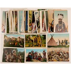 Plain Indian postcards - Lot #2  (104160)