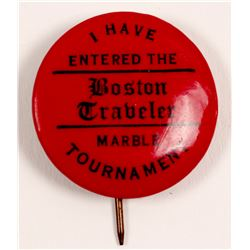 "Marble Pin /  "" The Boston Traveler""  (100704)"