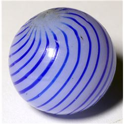 """Marble / Blue Striped Clambroth, 5/8"""".  (100613)"""