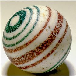 "Marble / China "" Double Ended Bulls Eye""  (100675)"