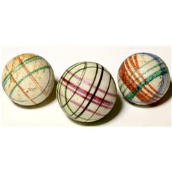 "Marbles / 3 Geometric"" Chinas  (100671)"