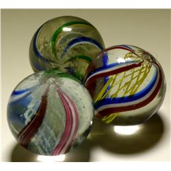 Marbles / Latticinio Core Swirls / 3 items  (100632)