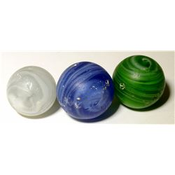Marbles / Transitionals / 3 Pieces.   (100602)