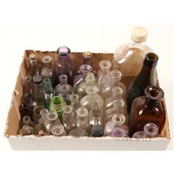 Bottle Bonanza / 46 items.   (102082)
