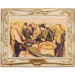 Cyrus Noble gambling print  (91520)
