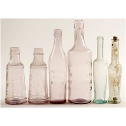 Food Bottles / Olive Oils & Salad Dressings / 6 Pieces  (78836)